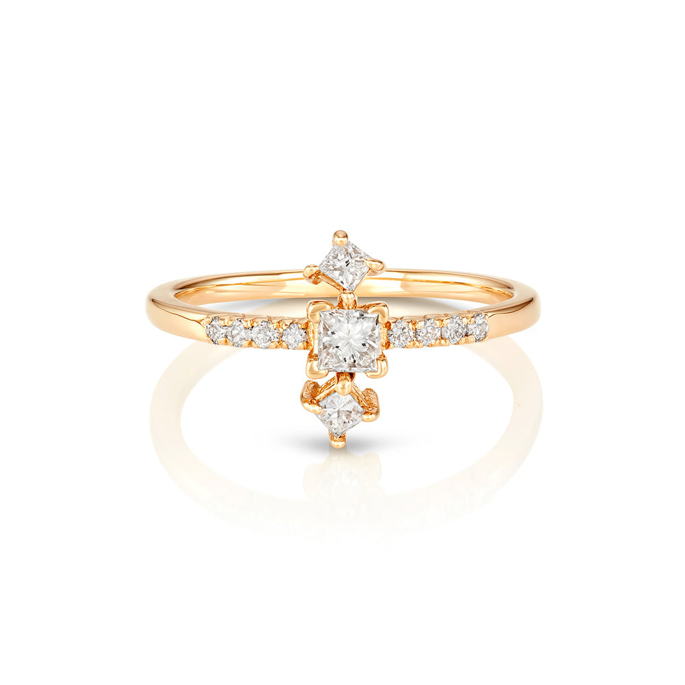 Yours only - Princess Diamond Ring