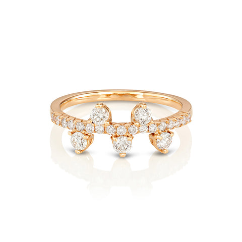 Yours only - Halfmoon Diamond Ring