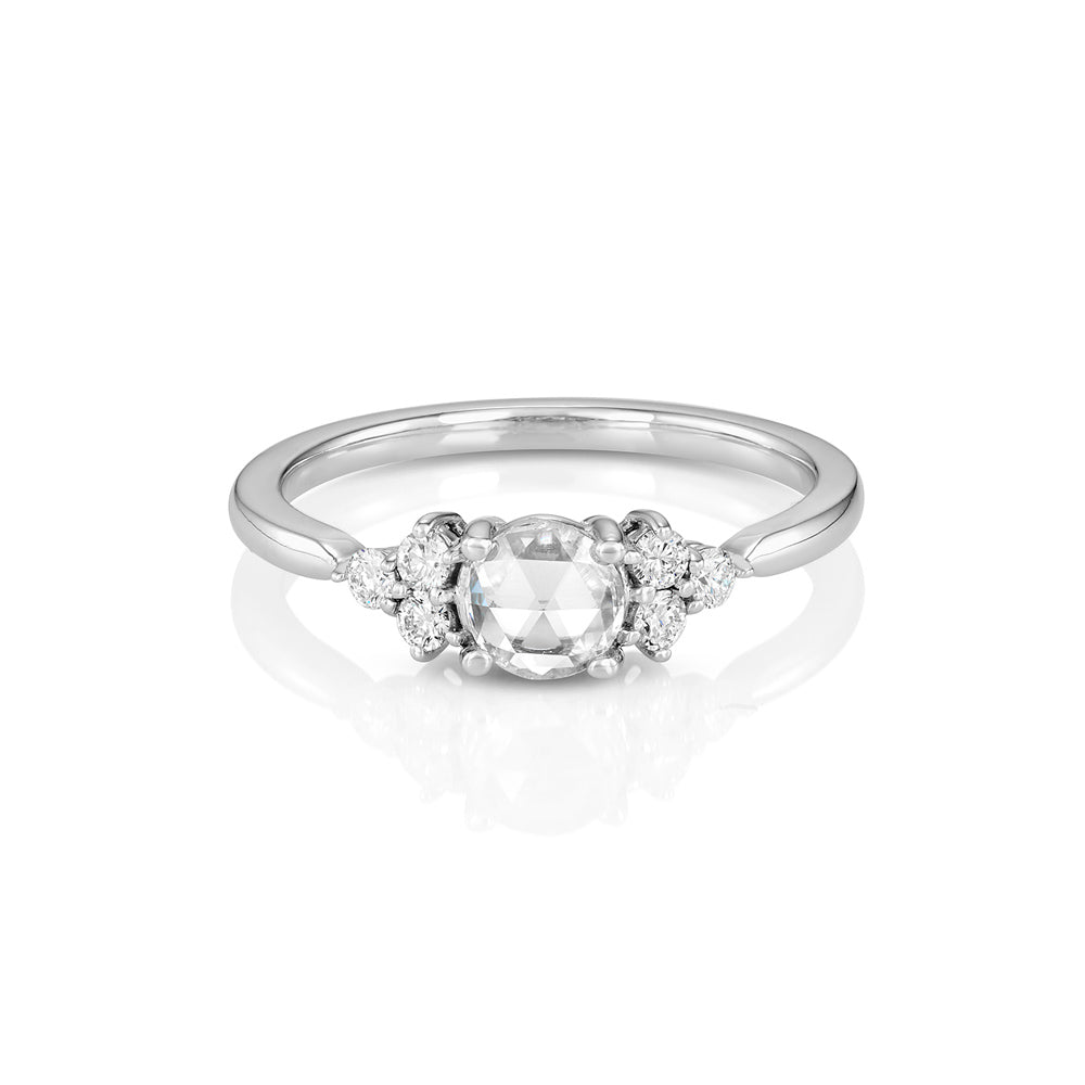 Yours only - Cluster Rose Cut Diamond Ring