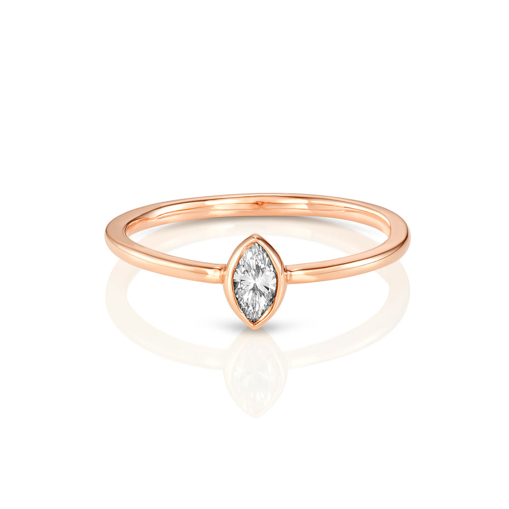 Yours only - Marquise Diamond Ring