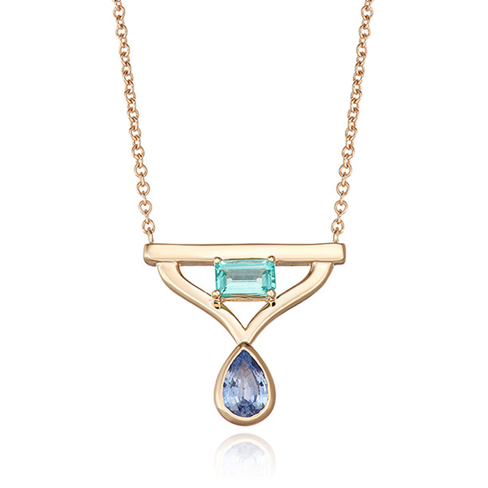 Modern Queen Color Pendant