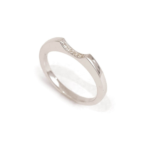 Yours only - Baguette Line Diamonds Ring
