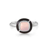 MINI GEO MOONSTONE RING