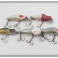 Heddon Lot Of Five River Runts To Fish With
