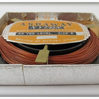 Ashaway Soft Finished Fly Line In Correct Box
