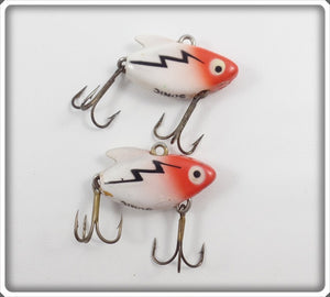 Heddon Red & White Ultra Sonic Pair