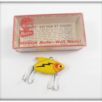Heddon Yellow Sonic In Correct Box