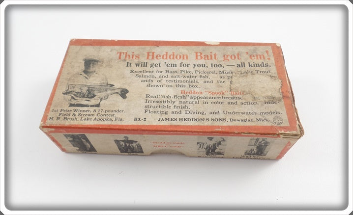 Heddon Empty Unmarked Brush Box