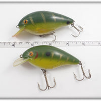 Cordell Big O Pair: Green With Gold Stripes