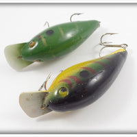 Cordell Big O Pair: Green With Gold & Green Perch