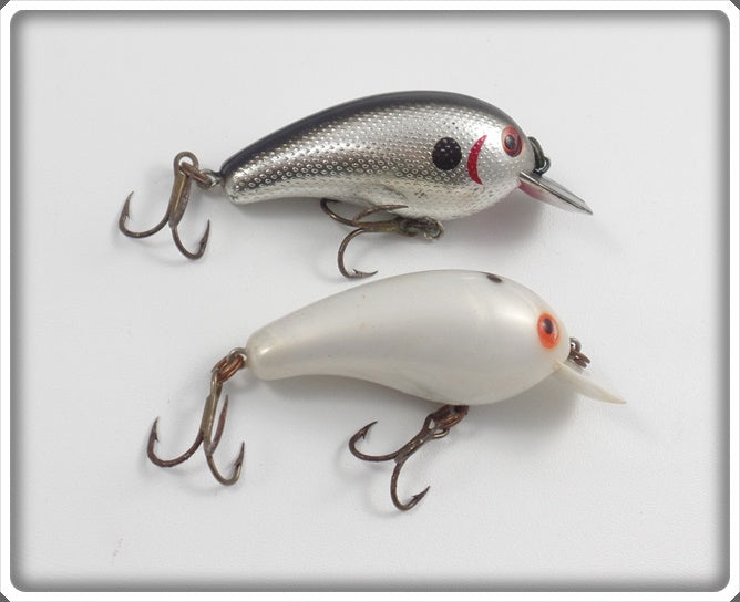 Cordell Big O Pair: Chrome & White