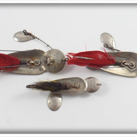 Heddon Nickel Plated Ace Stanley & 2 Queen Stanleys