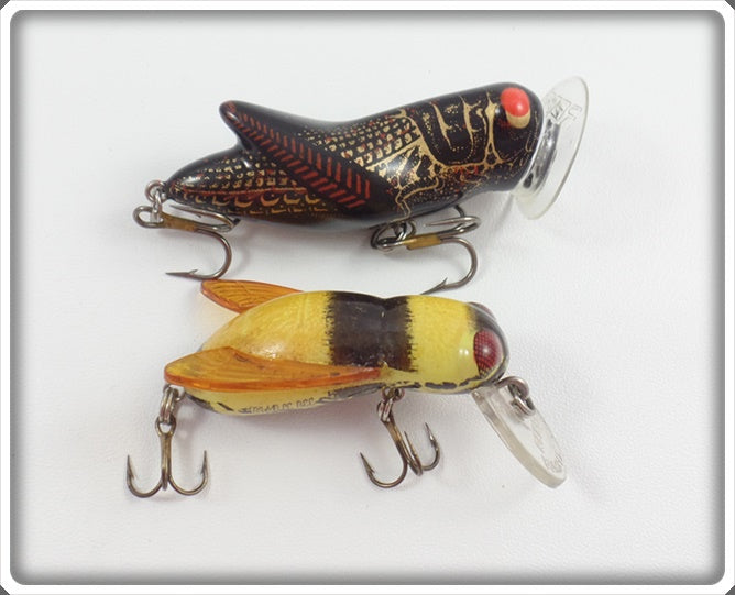 Rebel Black Crickhopper & Yellow Bumble Bug