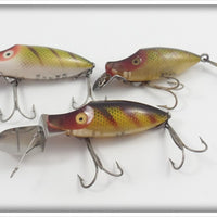 Heddon Perch River Runt Lot Of Three
