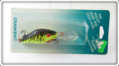 Mann's Green Crawdad Deep Pig Lure On Card