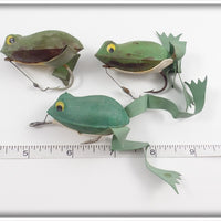 Bill Plummer Frog Lot Of Three