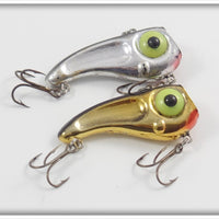 Rabble Rouser Ransaker Pair Gold Chrome & Chrome