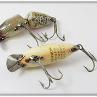 Heddon River Runt Pair: Spook Ray Red White & Shiner Scale