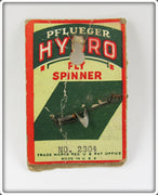 Vintage Pflueger Hydro Fly Spinner On Card