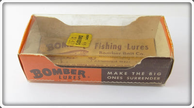 Vintage Bomber Bait Co Empty Box For Crawdad Model 600 Lure