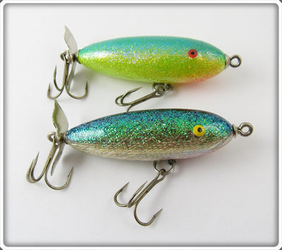 Norman Glitter RL Top Water Lure Pair