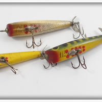 Dalton Special Lot Of Three: Yellow, Silver Flash, & Frog