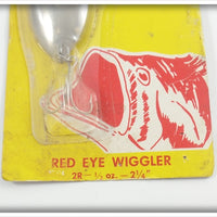 Hofschneider Red Eye Wiggler On Card