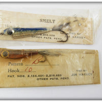 Jim Harvey Featherweight Plastic Minnow Pair In Packages