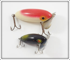 Atlantic Lures Frantic Antic Pair: White/Red & Black/Green