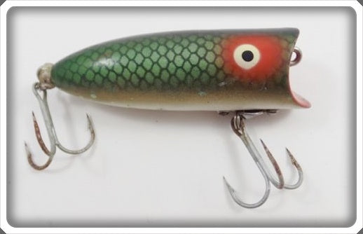 Heddon Green Scale Baby Lucky 13