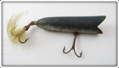 Folk Art Home Made Blue Darter Type Lure