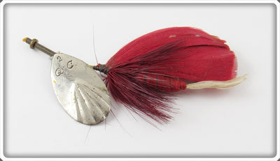 Vintage Quaker City Spinner On A Fly Lure