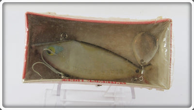Vintage Smithwick Grey Water Gater Lure In Box