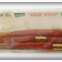 Heddon Gold Band Worms: 2 Packs