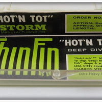 Storm Black Hot N Tot Thinfin Deep Diver In Correct Box AH28