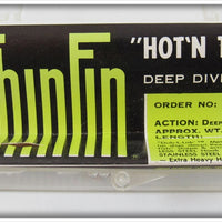 Storm Black Hot N Tot Thinfin Deep Diver In Correct Box