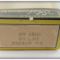 Shakespeare Paw Paw Shad Dragon Fly In Correct Box L9223