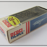Rebel Silver & Blue Mini R In Correct Box  F-94R-03