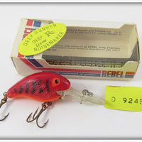 Rebel Red Crawdad Orange Belly Deep Teeny R In Box