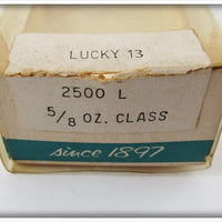 Heddon Perch Lucky 13 In Correct Box 2500 L