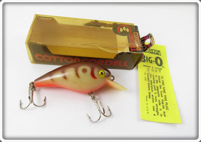 Cotton Cordell Brown Crawdad Big O In Box
