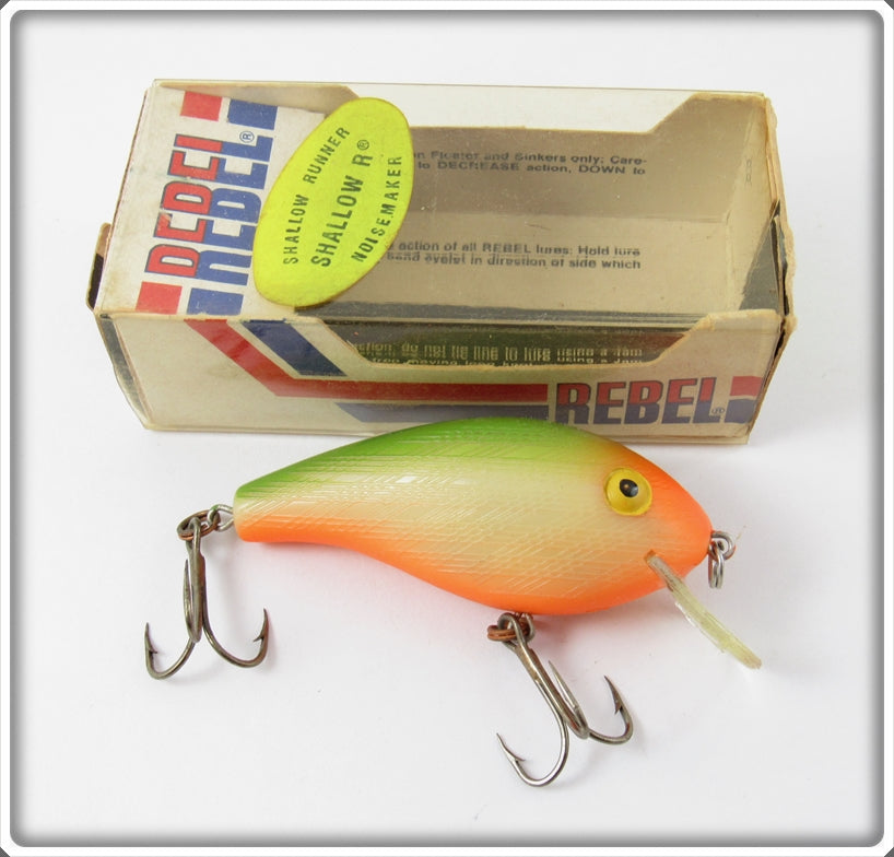 Rebel Bone Orange Belly Green Back Shallow R In Box