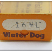 Bomber Bait Co Metachrome Blue Back Water Dog In Correct Box 16ML