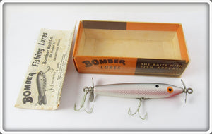 Bomber Bait Co Silver Shad SpinStick In Correct Box 7340