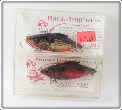 Bill Lewis Natural Mini Trap Pair In Boxes