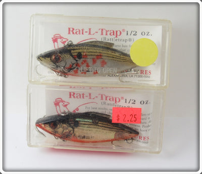 Bill Lewis Natural Rat-L-Trap Pair In Boxes