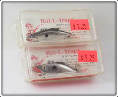 Bill Lewis Chrome Tiny Trap Pair In Boxes