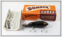 Bomber Bait Co Solid Black #500 In Correct Box
