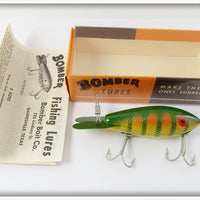 Bomber Bait Co Yellow Perch #500 In Correct Box 507