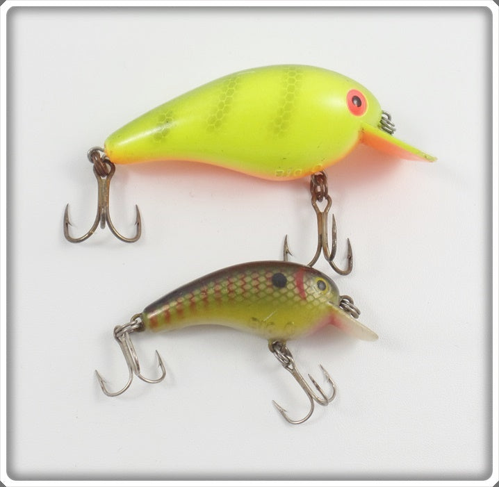 Cordell Big O Pair: Yellow & Perch